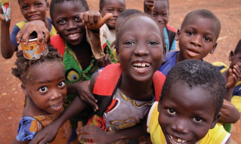 Jeunes enfants à Kaya.