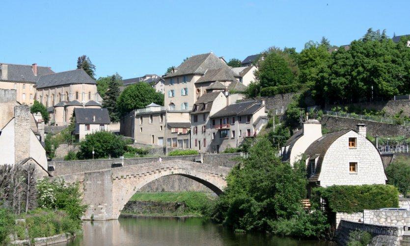 Le pont de Notre-Dame, à Mende.