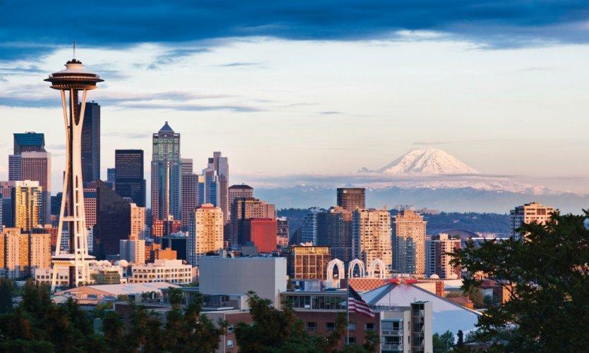 Panorama sur Seattle.