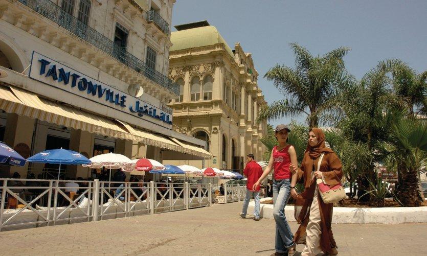 Café Le Tantonville, plaza Port-Saïd.
