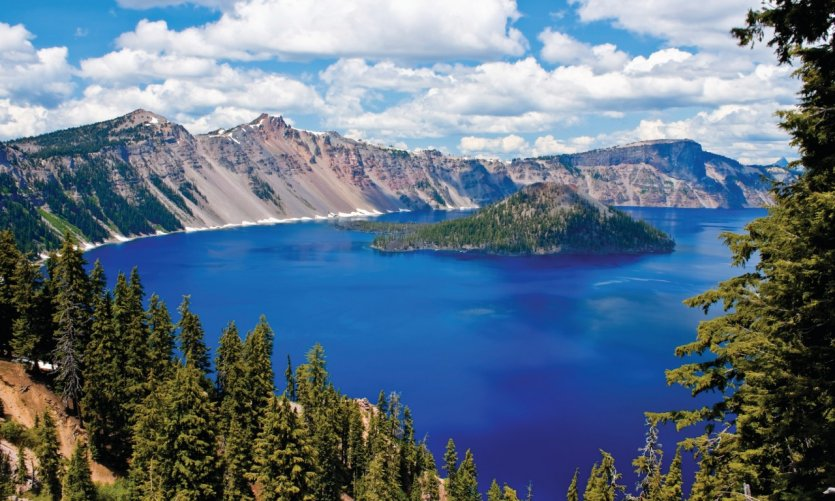 Crater Lake National Park.