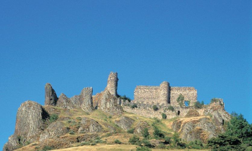 Le château d'Arlempdes