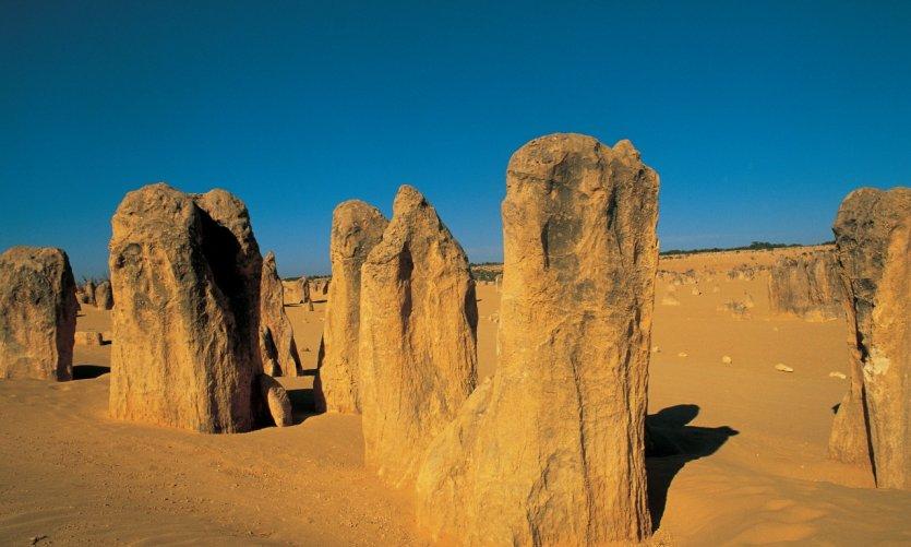<p>Pinnacles desert.</p>