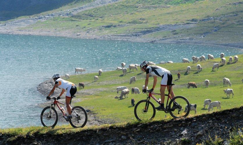 Vélo dans la région de Bardonèche