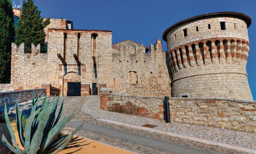 <p>Castello de Brescia.</p>