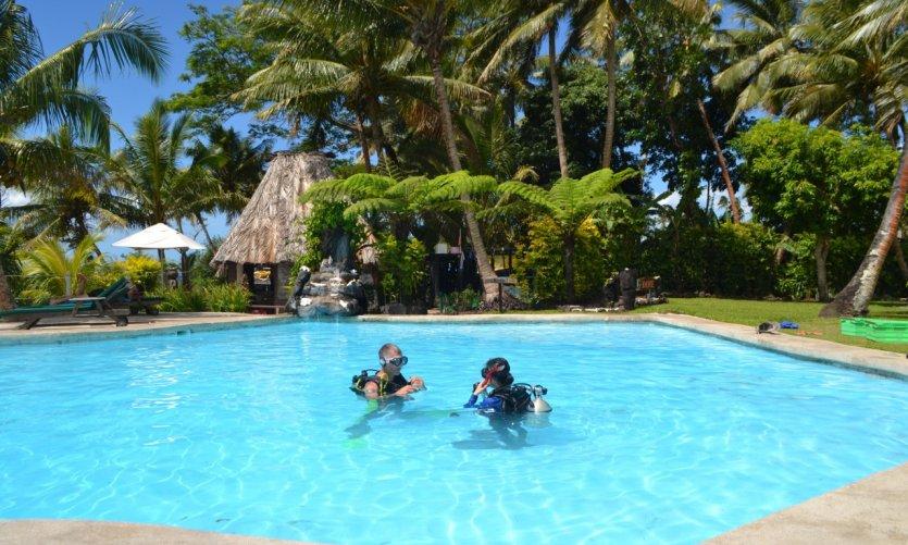 Nombreux sont ceux qui choisissent Fidji pour passer leur certificat de plongée.