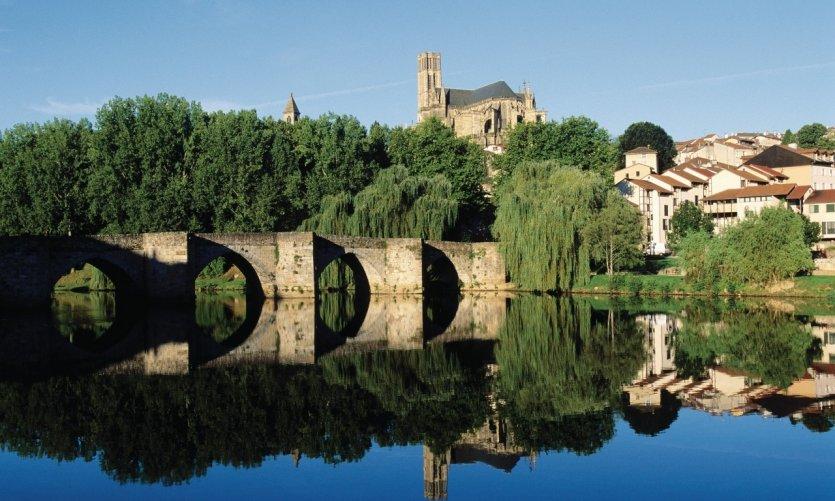 La cathédrale et le pont Saint-Etienne