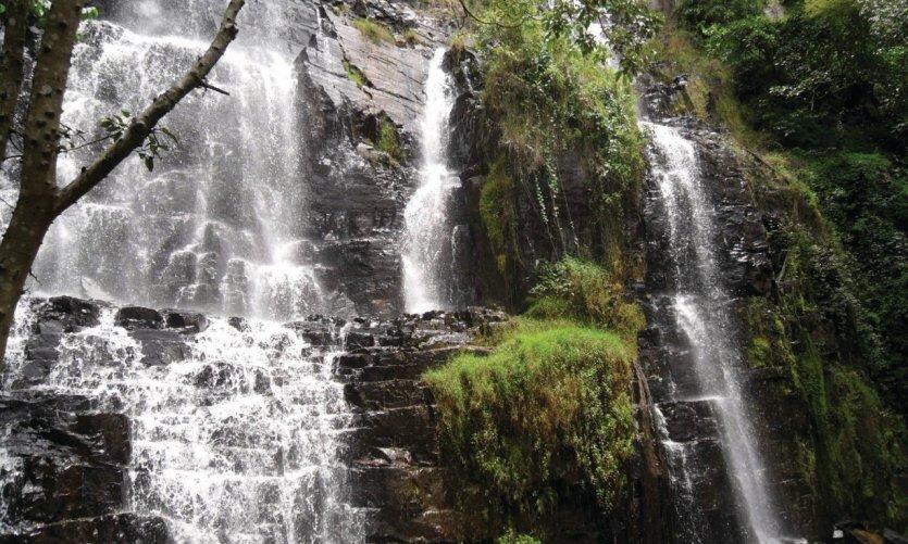 Les chutes de la Karera.