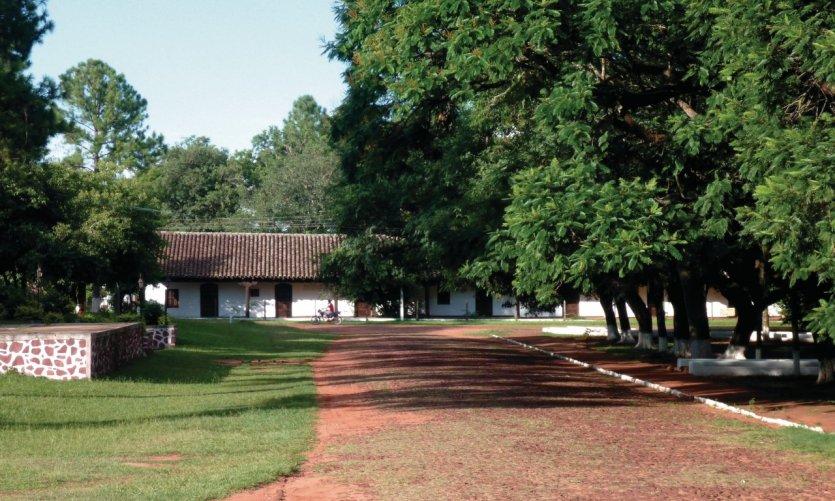 <p>The peaceful village of Santa María de Pa.</p>