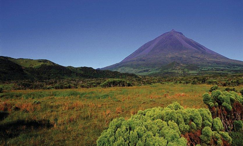 Le mont Pico est le point culminant de l'archipel.