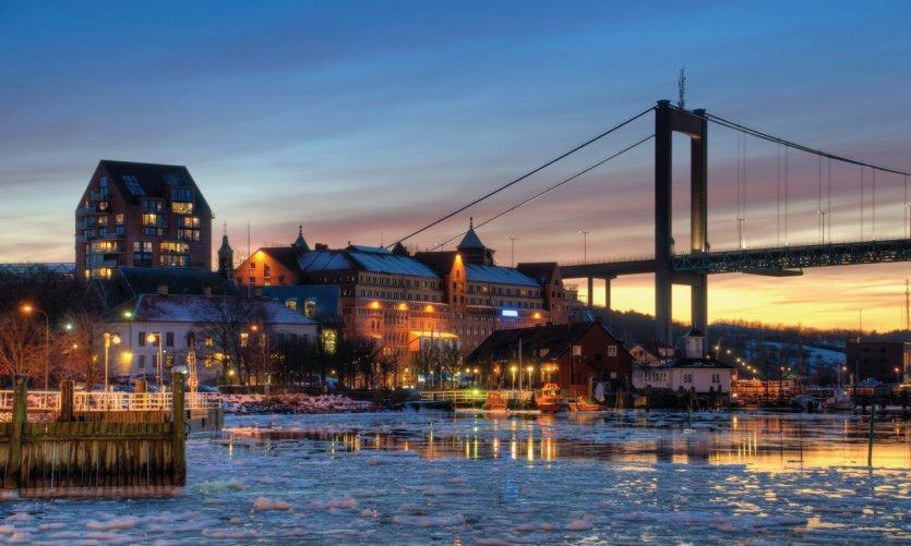 Gotemburgo nocturno.