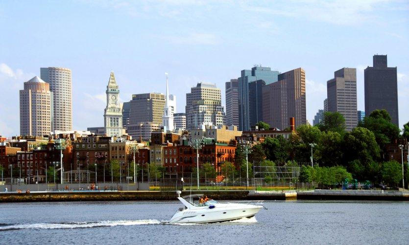 Baie de Boston.