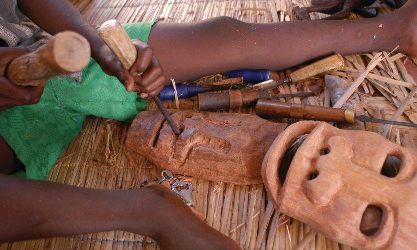 Artisanat du Mozambique.