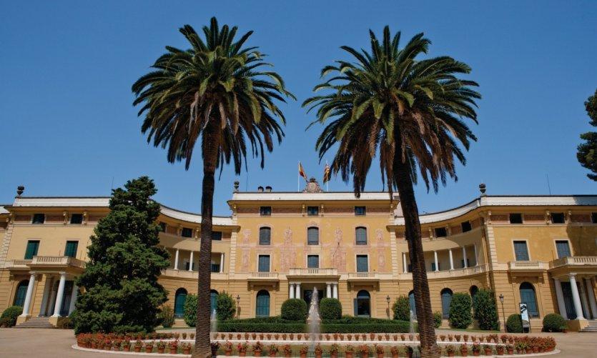 Palau Reial de Pedralbes.
