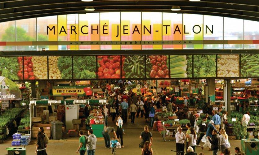 Marché Jean-Talon.