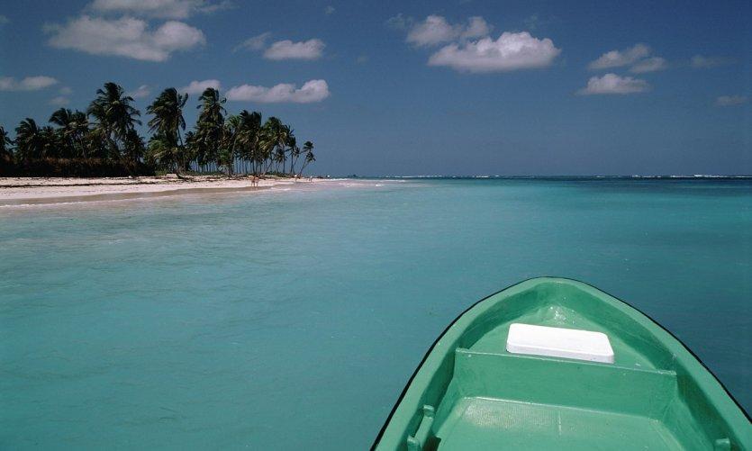 Playa Bavaro, une des belles plages de la côte des cocotiers.