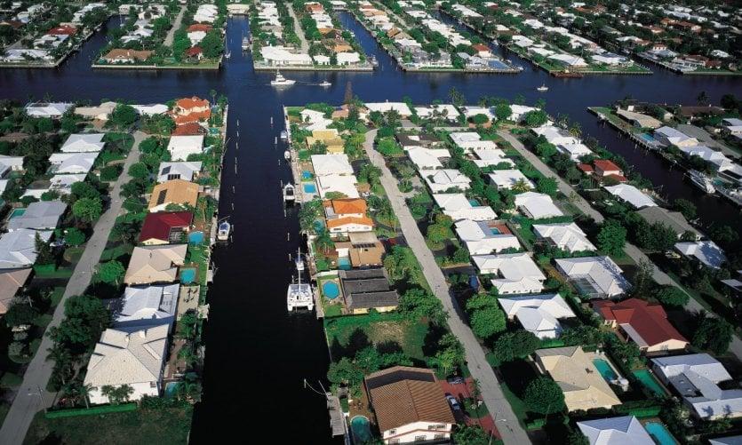 Canales en Fort Lauderdale.