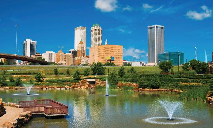 Skyline de Tulsa.