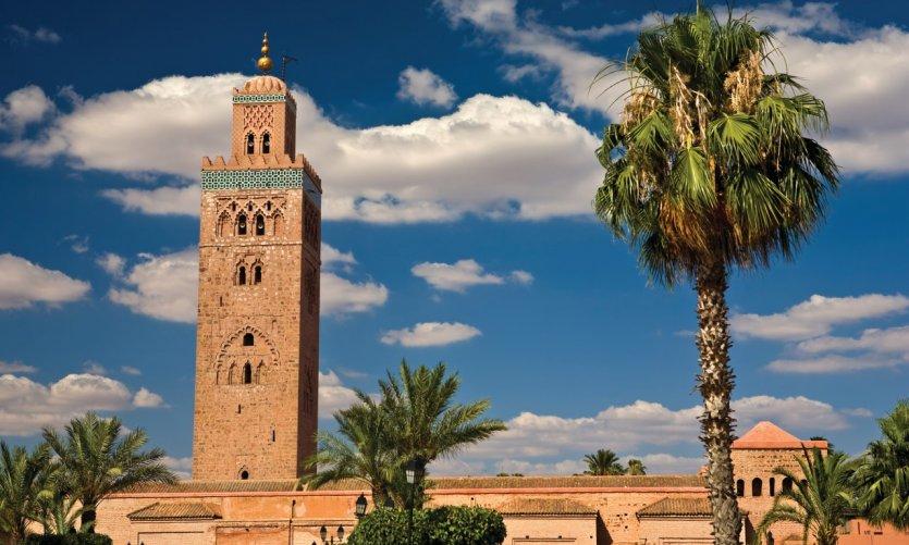 La mosquée Koutoubia, à Marrakech.