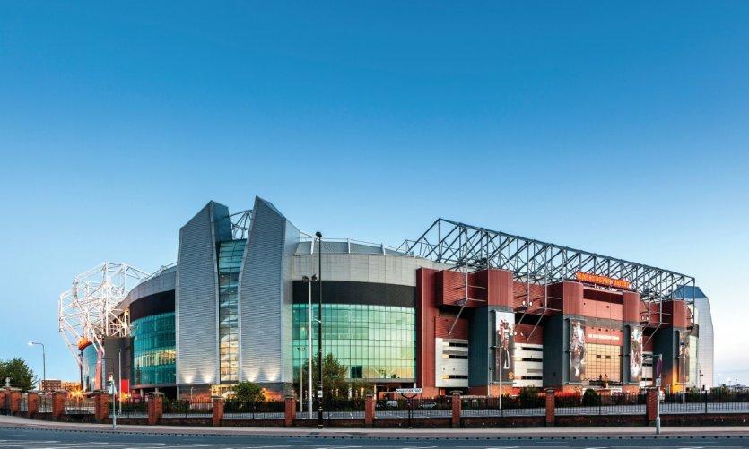 Stade de Manchester.