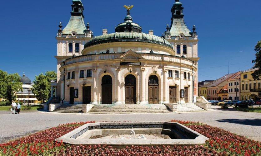 La Redoute, magnifique bâtiment Art Nouveau de Spišská Nová Ve.