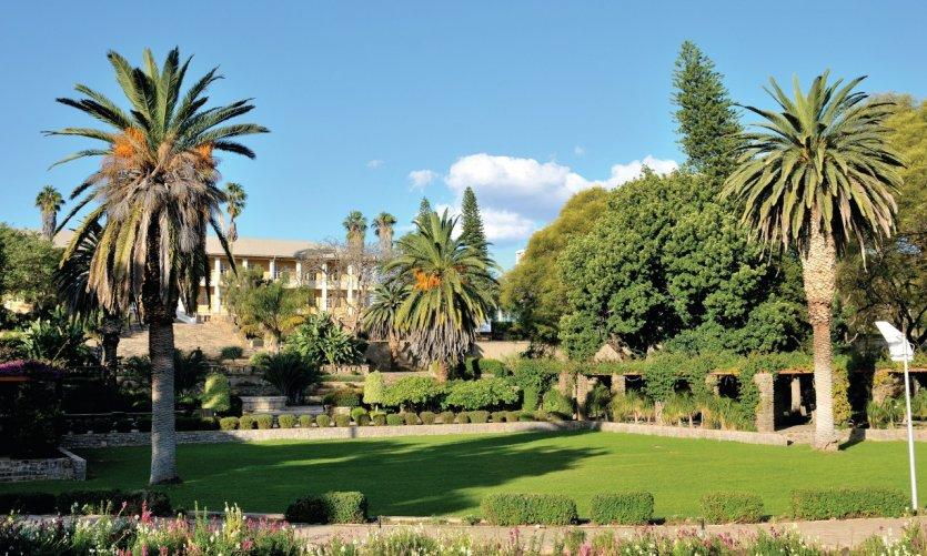 Windhoek et son parlement.