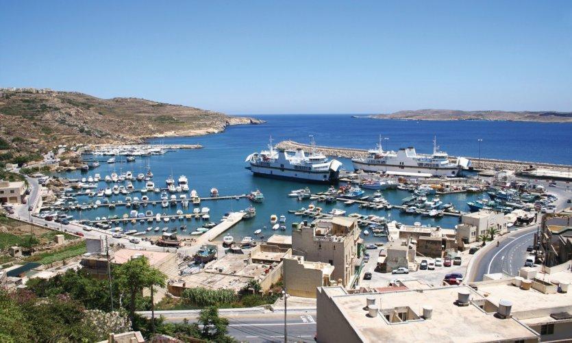 Le port de Mgarr.