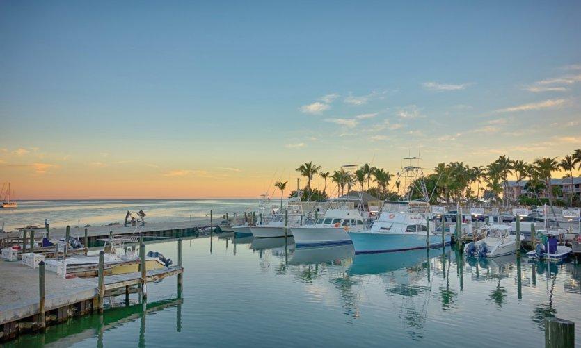 Marina de Key Largo.
