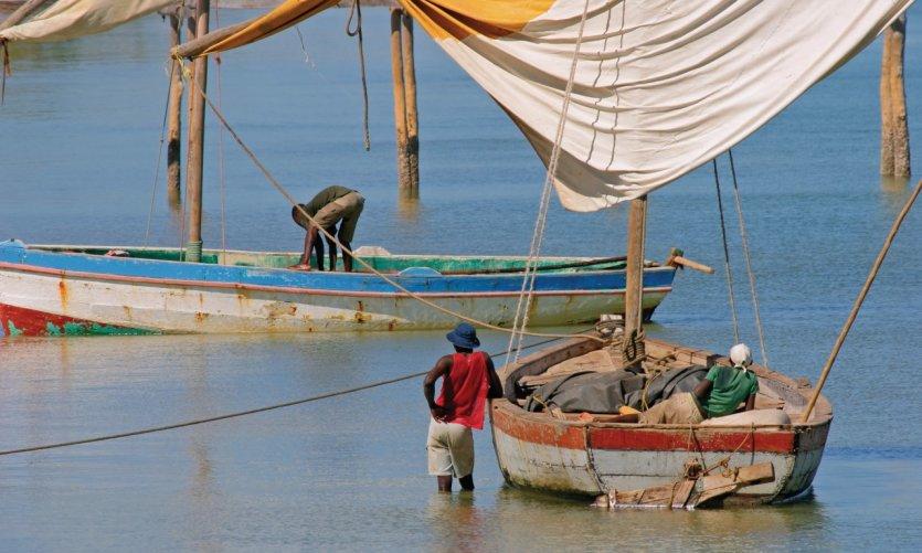 Pêcheurs du Mozambique.