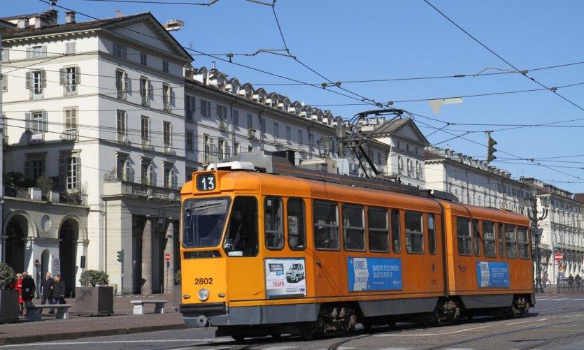 Tramway de Turin.