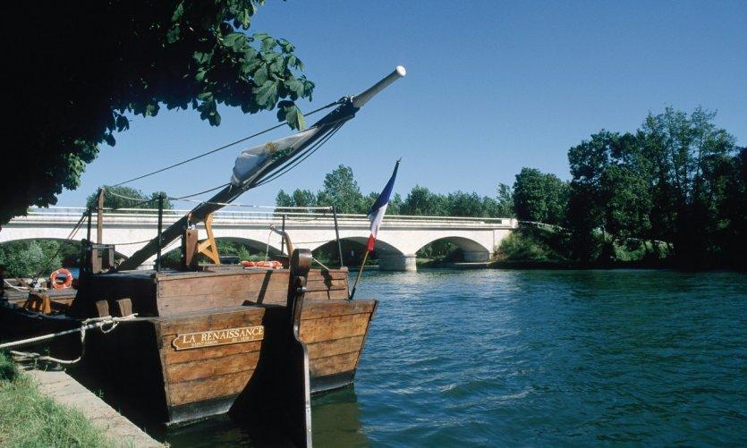 Gabare sur la Charente