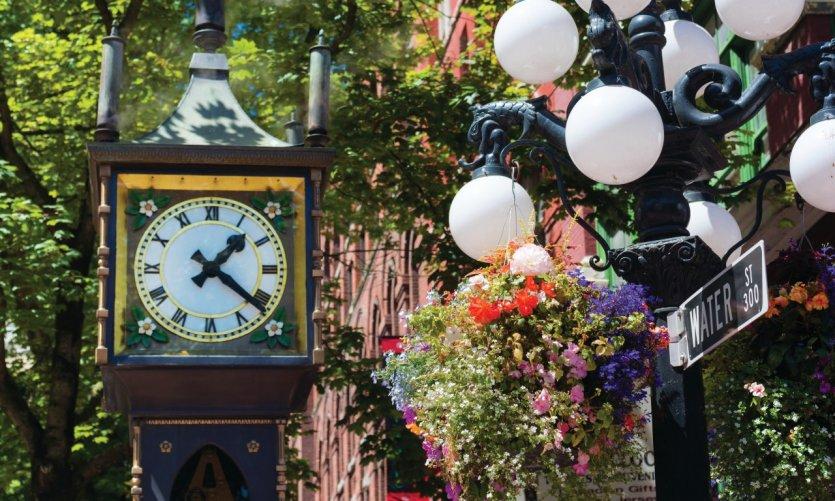 Steam Clock de Gastown.
