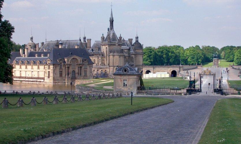 Le château et le parc de Chantilly