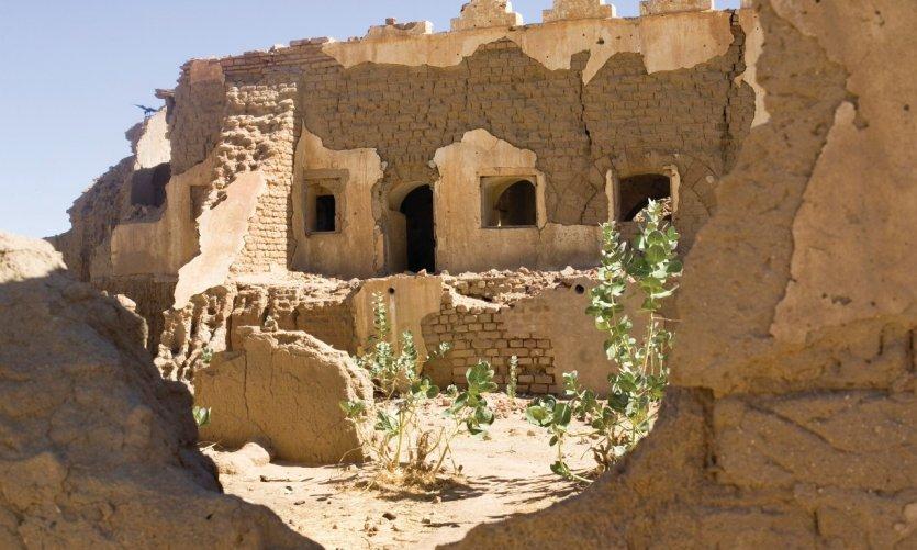 Ruines dans les environs de Fada.