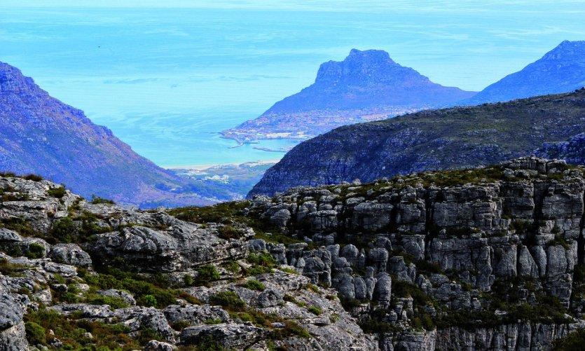 Hout Bay vu de Table Mountain