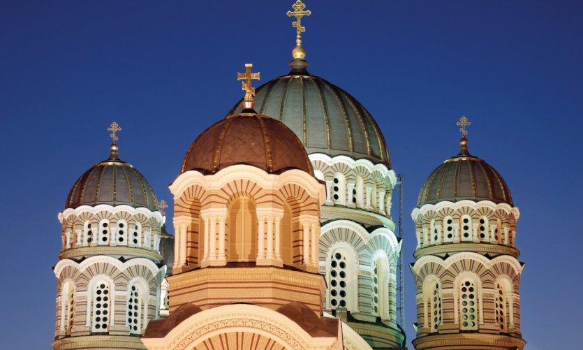 Cathédrale de la Nativité de Riga.