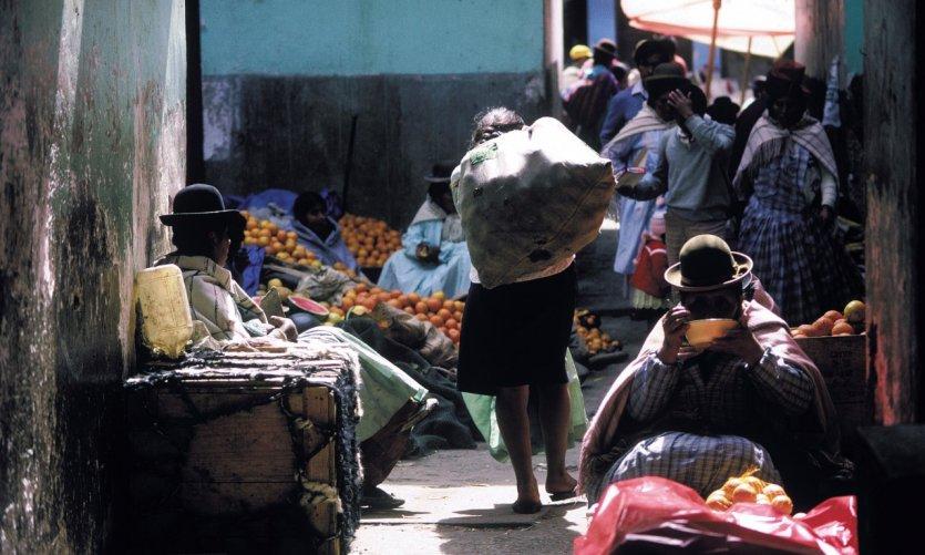 Mercado indígena.