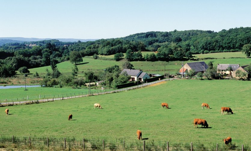 La Chaise, petit hameau situé près de Bénévent-l'Abbaye