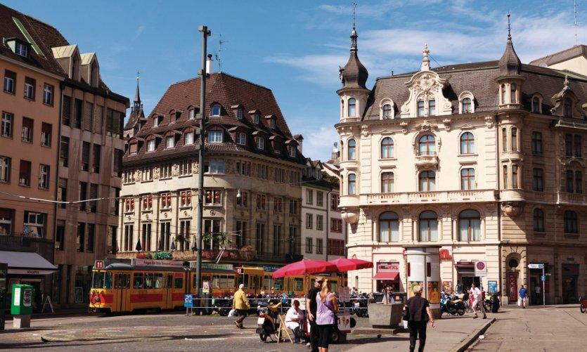 Marktplatz, the market place.