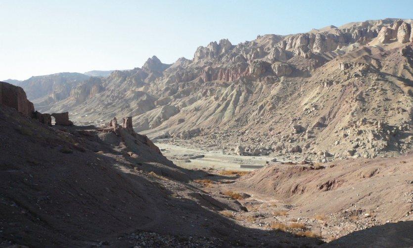 <p>Citadel of Shar-e-Zohak.</p>