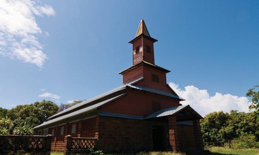La chapelle de l'île.