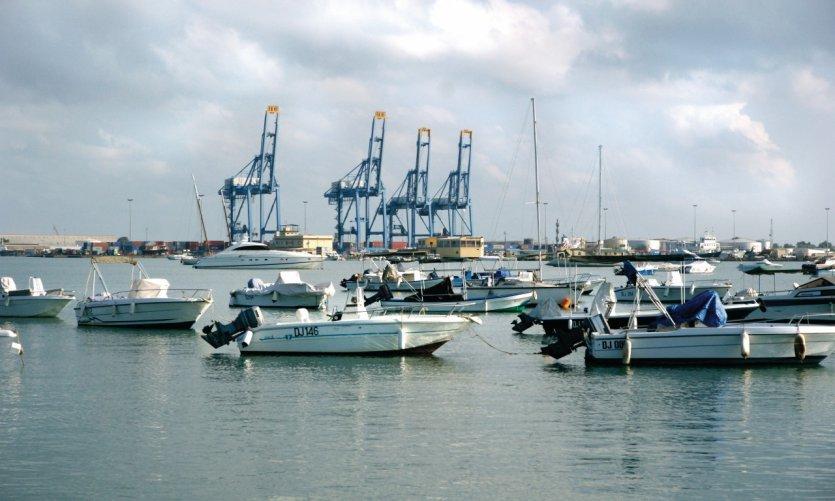 Le port de Djibouti, l'Escale et la Marina.