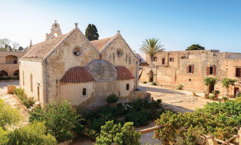 Monastère d'Arkadi.
