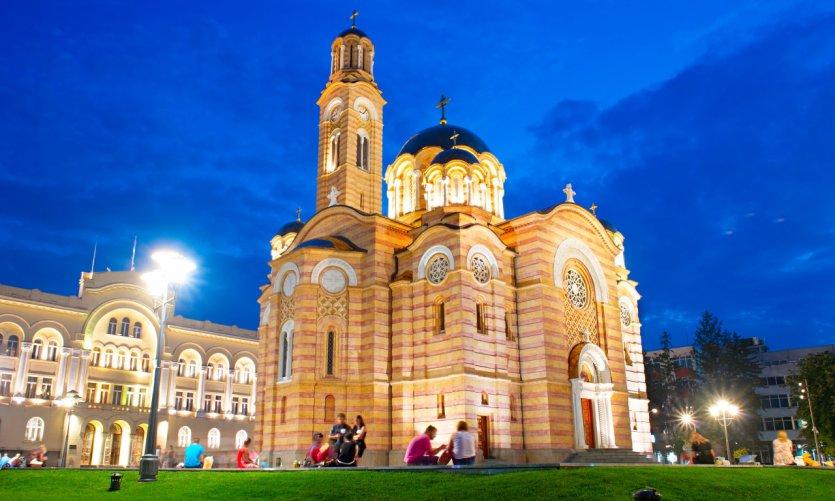 <p>Catedral de Cristo-Salvador, Banja Luka.</p>