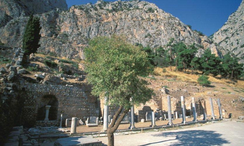 Agora romaine du sanctuaire d'Apollon.