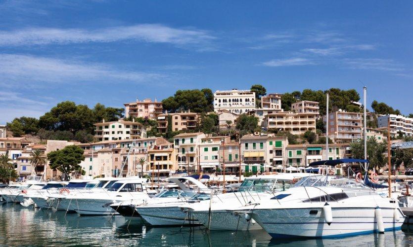 Port Soller, Majorque.