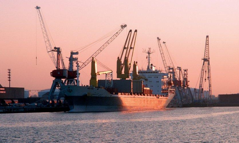 La zone industrialo-portuaire de Dunkerque