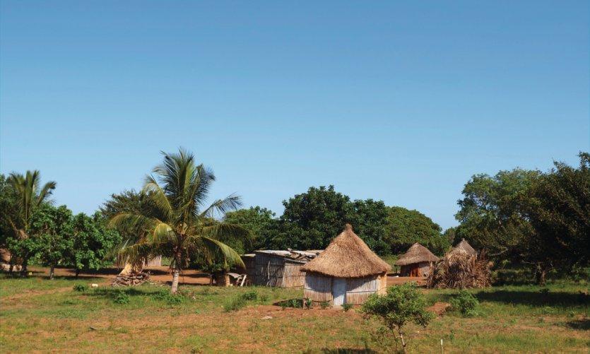 Huttes traditionnelles de Vilankulo.
