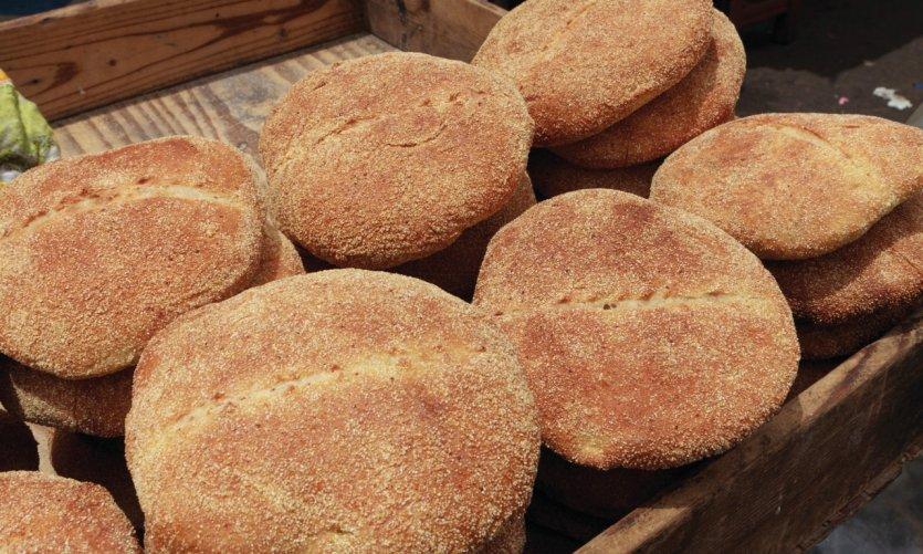 Les délicieux pains marocains.