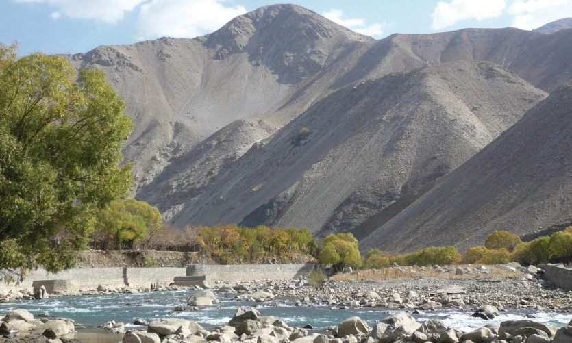 Vallée luxuriante du Panjshir.